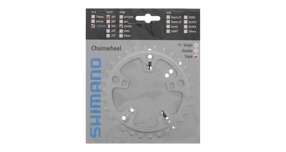 Shimano Tiagra FC-4603 Kettenblatt silber